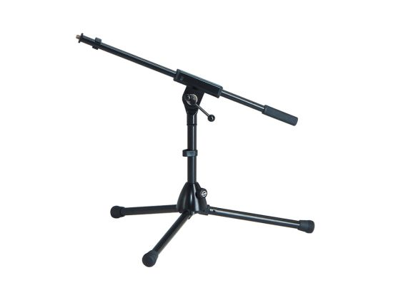 K+M 259/1 Low Tripod Microphone Stand with Boom
