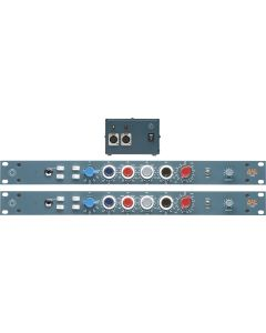 BAE 1032 Mic Preamp and EQ Pair (With PSU)