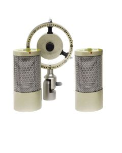 Coles 4050 Matched Pair Stereo Ribbon Microphone, Detached