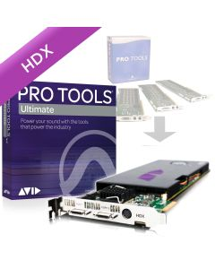 HD/TDM System to HDX Core with Pro Tools | Ultimate Perpetual License NEW