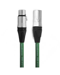 Van Damme AES Cable with Female XLR to Male XLR 0.5m