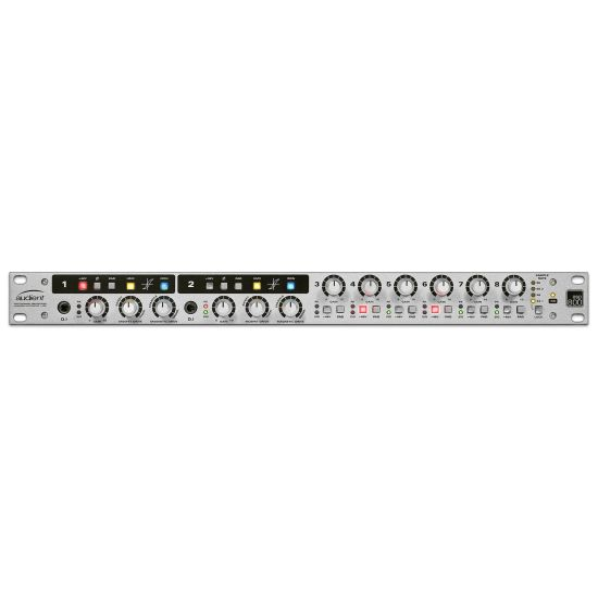 Audient ASP800 8-channel Mic Preamp - Front