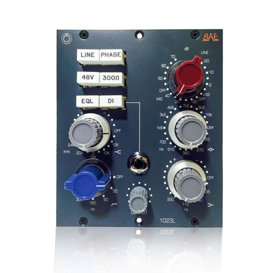 BAE 1023L 500 Series Mic Preamp and EQ Image