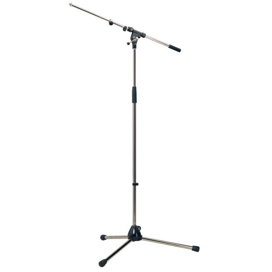K+M 210/9 Microphone Stand With Telescopic Boom Arm