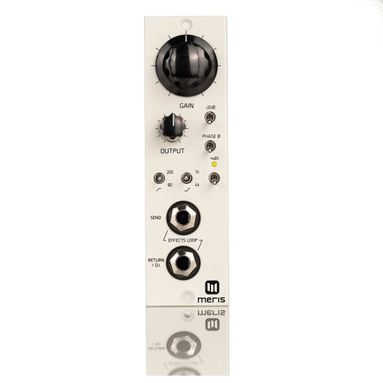 Meris 440 500-series Mic Preamp with Effects Loop, Front
