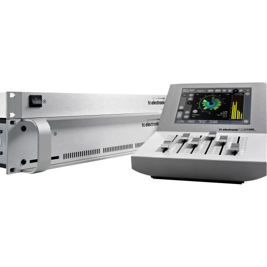 TC Electronic Broadcast 6000 MkII with TC Icon Remote