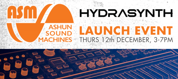 Hydrasynth Launch Event at KMR Audio!