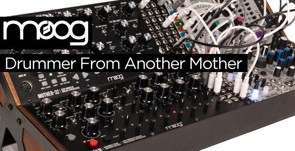 NAMM 2018 News: Moog Drummer From Another Mother