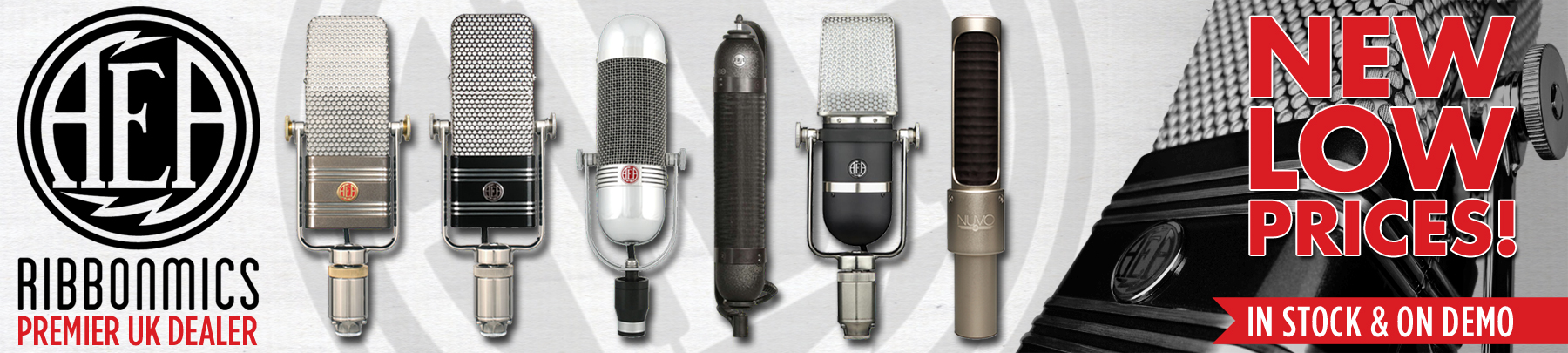AEA Ribbon Microphones