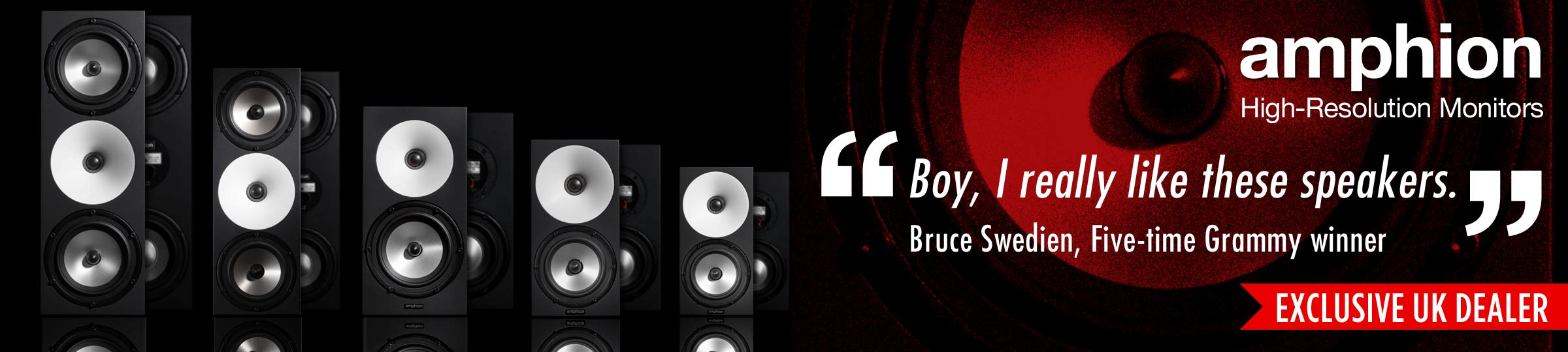 Amphion Studio Monitors - UK Exclusive