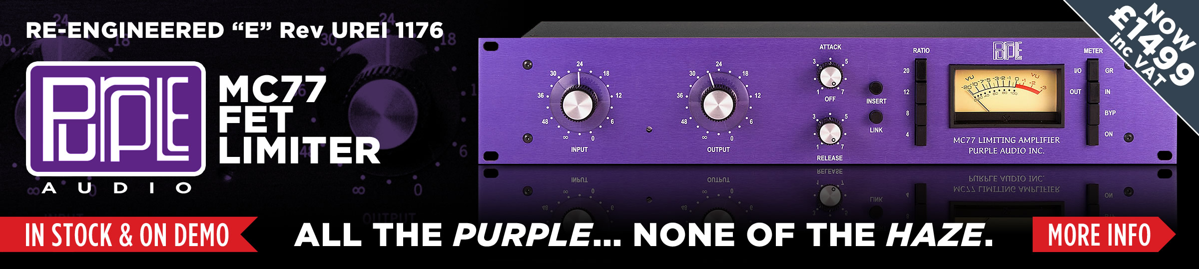 Purple Audio MC77 - Reengineered 1176