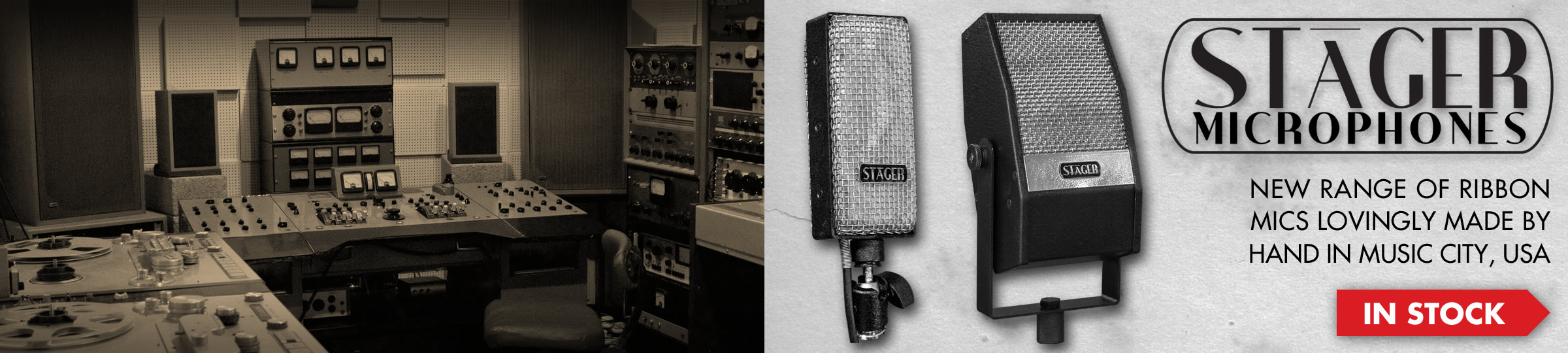 Stager Ribbon Microphones