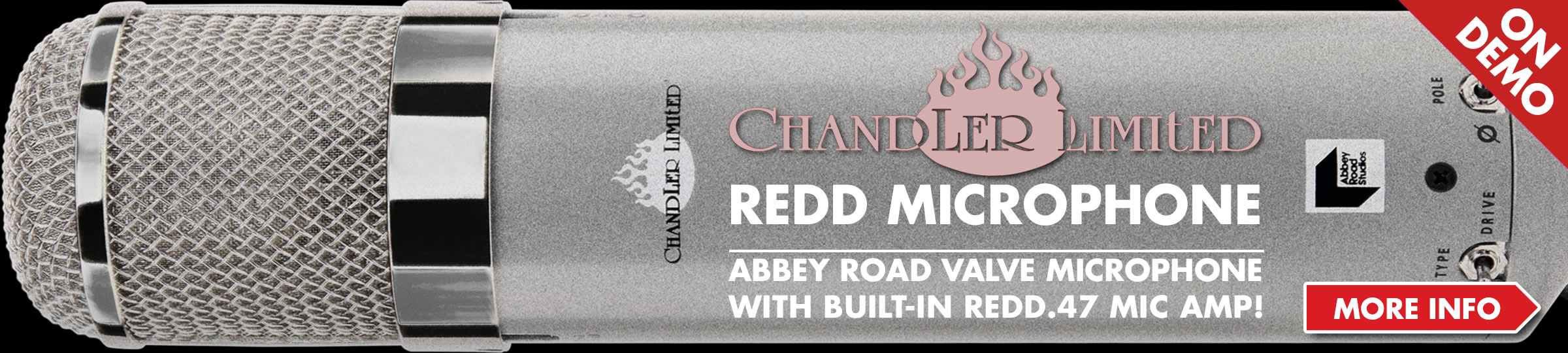 Chandler Abbey Road Redd Microphone