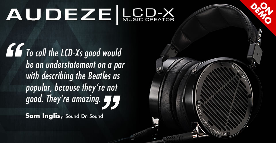 Audeze LCD-X Music Creator Package
