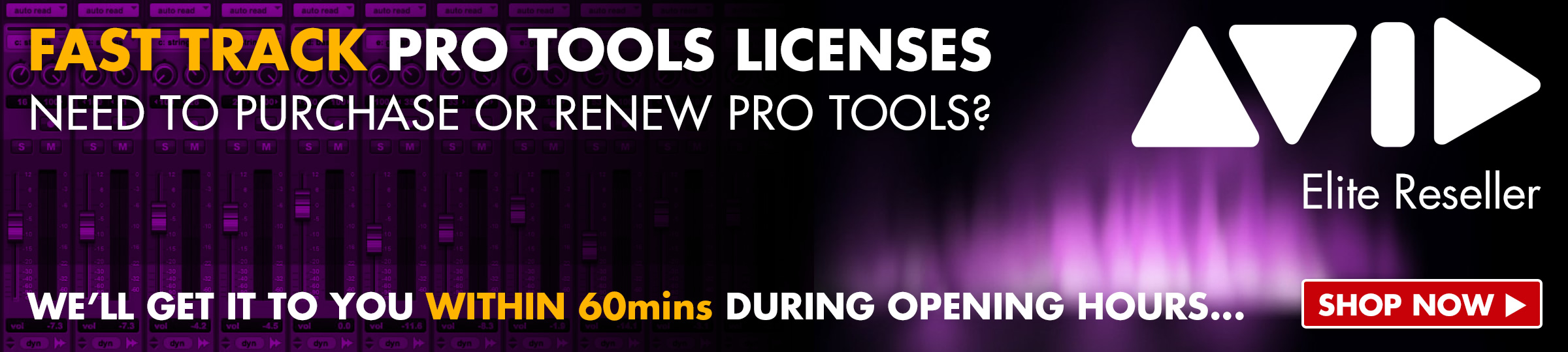 Fast Track Pro Tools Licenses