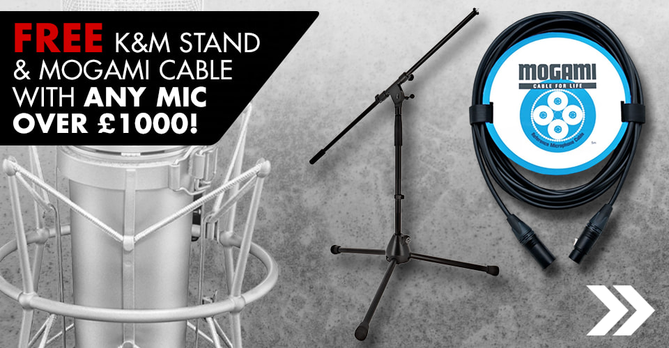 Free Stand & Cable With Mics Over 1K