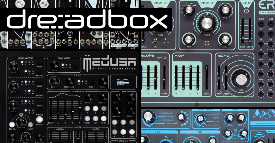 Dreadbox Synthesizers | KMR Audio