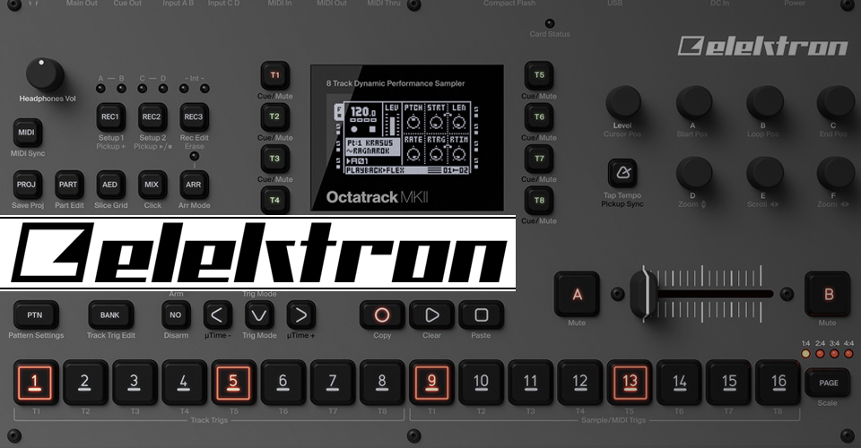 Elektron at KMR Audio