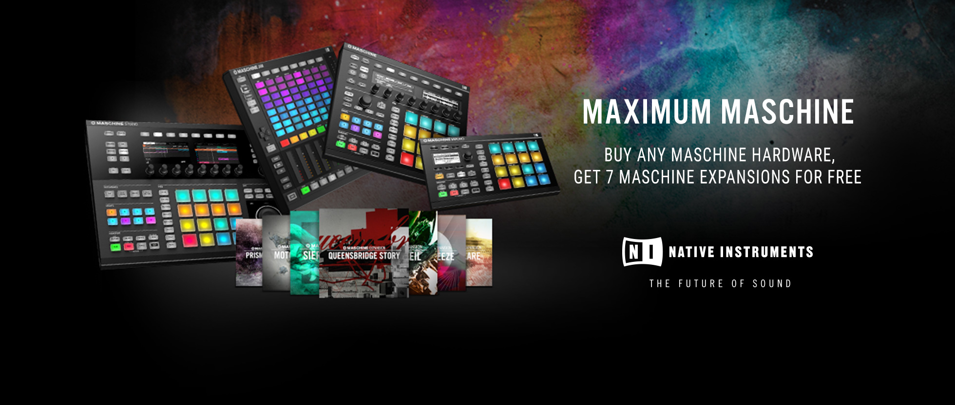 Maschine Expansion Offer
