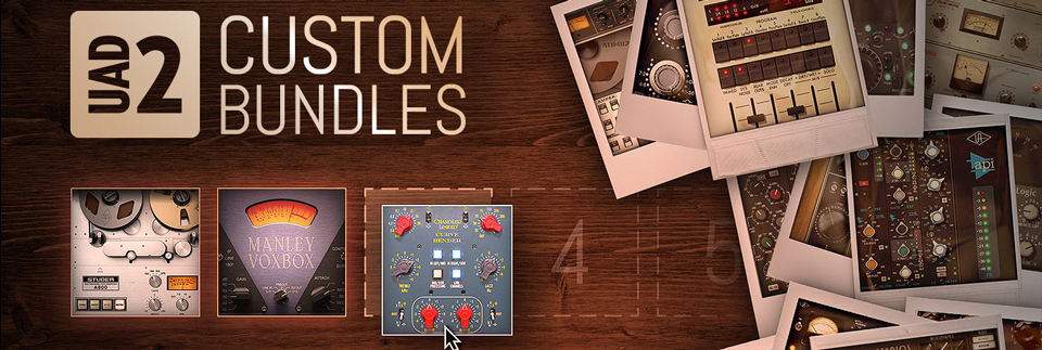 Universal Audio Custom Bundles