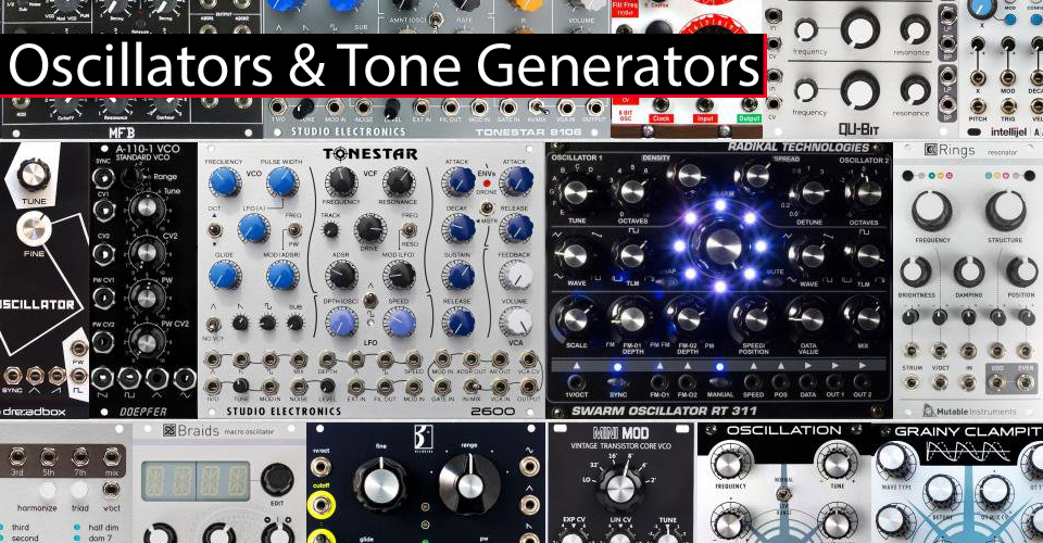 Oscillators & Tone Generators at KMR