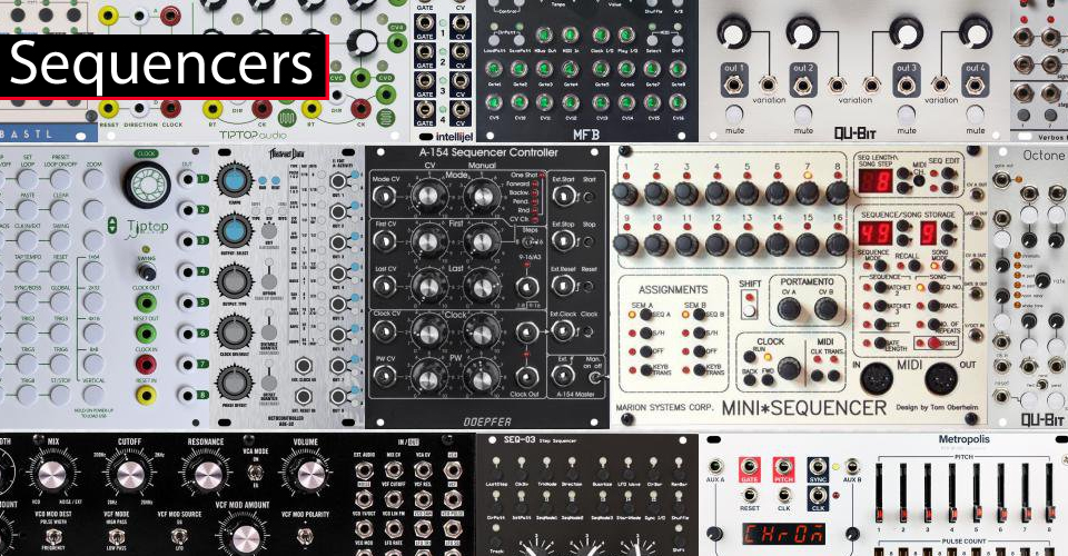 Sequencers at KMR Audio