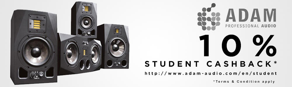 ADAM Audio Student Cashback