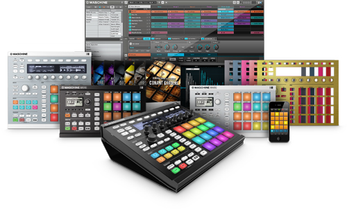 Native Instruments Maschine family shot