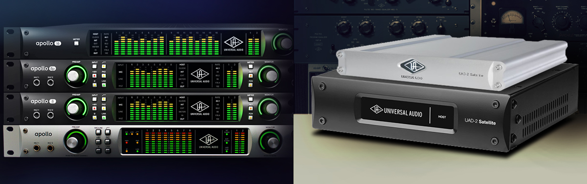 FREE UAD-2 with any Apollo Rack Audio Interface