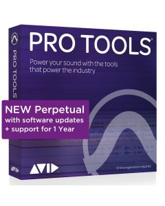 Pro Tools Perpetual License NEW 1-year software download with updates + support for a year [9935-71826-00]