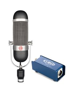AEA R84 Big Ribbon Microphone and Cloud CL-1
