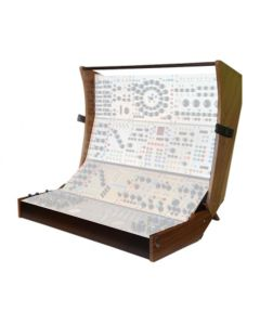 Buchla 201e -24 Powered Cabinet with 24 panels