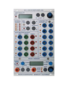 Buchla 225e MIDI Decoder and Preset Manager Module