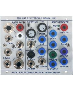 Buchla 225h MIDI to CV Interface