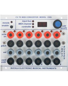 Buchla 226h CV to MIDI Interface Module