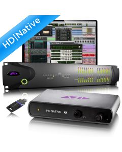 AVID HD Native Thunderbolt and HD i/o 16x16
