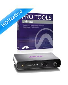 Avid HD Native Thunderbolt With Pro Tools Ultimate Software