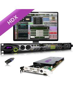 AVID HDX1 and HD OMNI