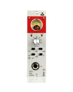 IGS Audio 572 Red Stripe 500 Series Mic Preamp