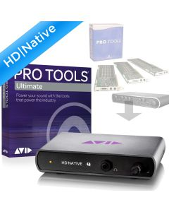 Mbox Pro, 00x or HD/TDM System to HD Native TB with Pro Tools | Ultimate Perpetual License NEW