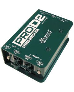 Radial Pro-D2 Full Range Stereo Passive Direct Box
