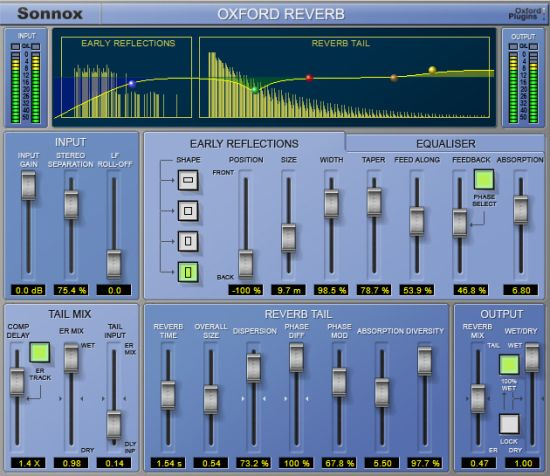 Sonnox Reverb HD (Plug-in)