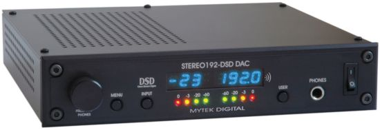 Mytek Digital Stereo192-DSD DAC Black Preamp Version