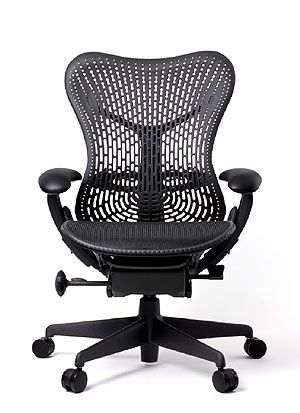 Herman Miller Mirra 2 Chair with Triflex Back, all Graphite