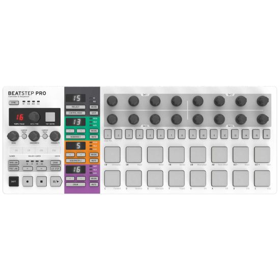 Arturia BeatStep Pro Analogue Step Sequencer and Controller
