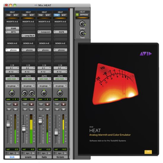 AVID HEAT HD Software - Mixer