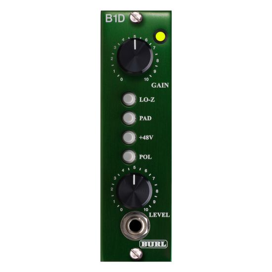 Burl B1 D MicPreamp and DI - Front