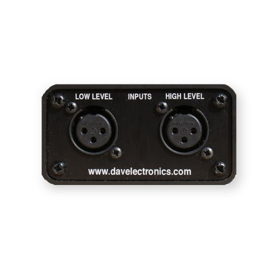 DAV Electronics Re-Amp Box - Rear