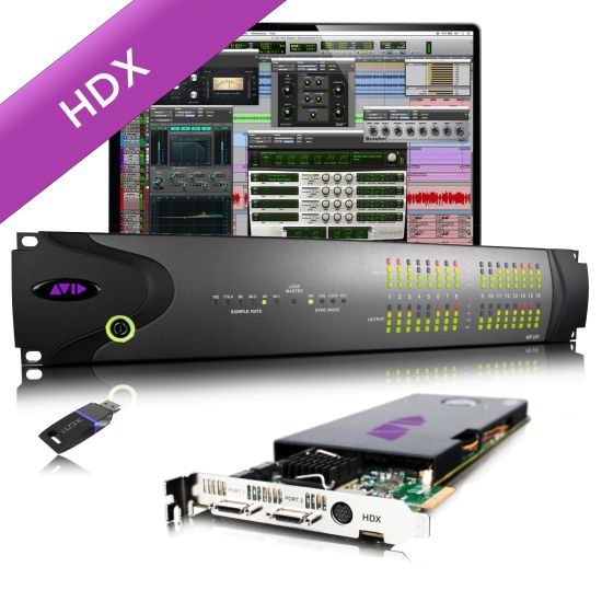 AVID HDX1 and HD i/o 16x16 Analog