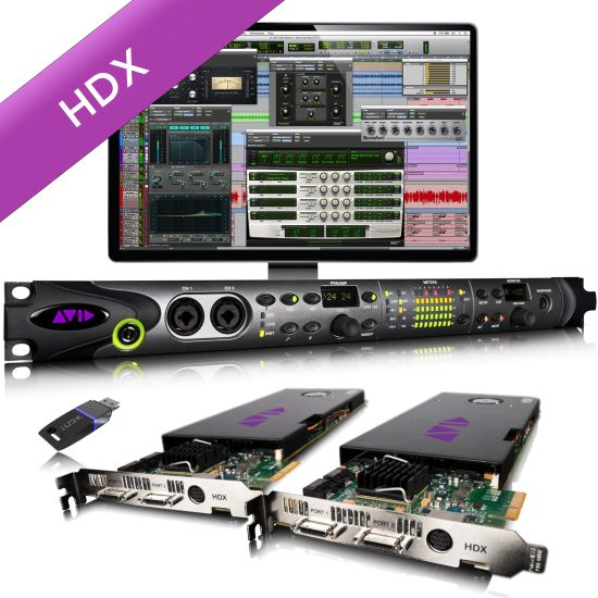 AVID HDX2 and HD OMNI